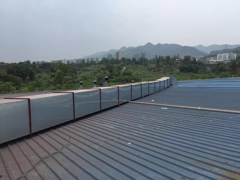 重庆涂装线通风管道安装