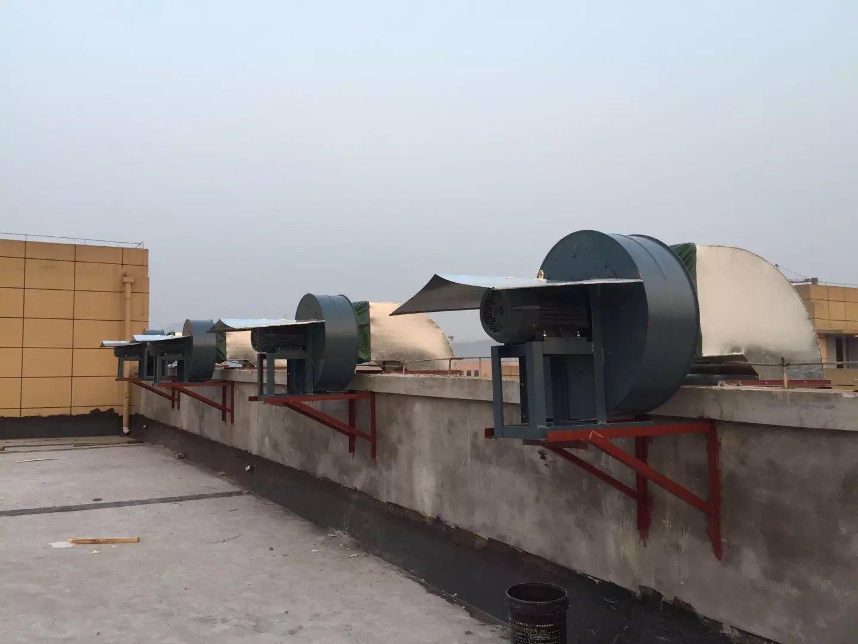 重庆德感食品厂排烟管道