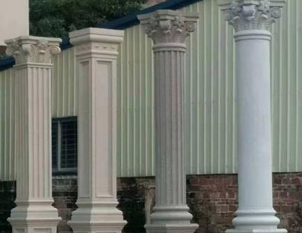 GRC塔楼罗马柱