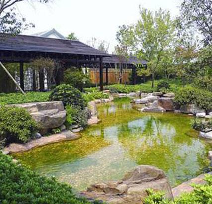 重庆酒店花园施工