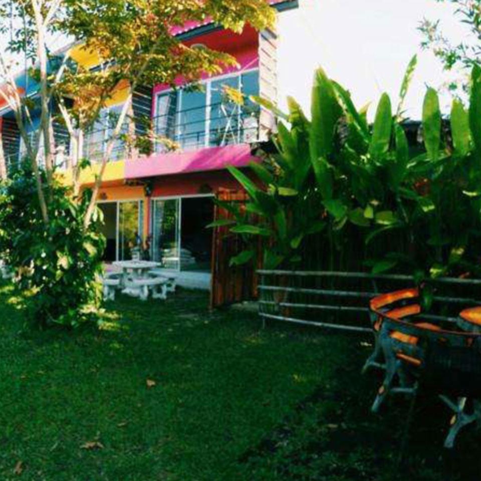 民宿花园庭院设计
