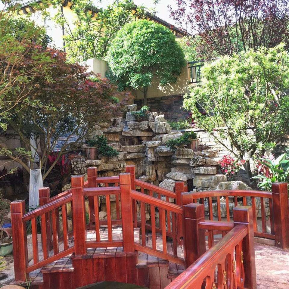 重庆私家花园修建