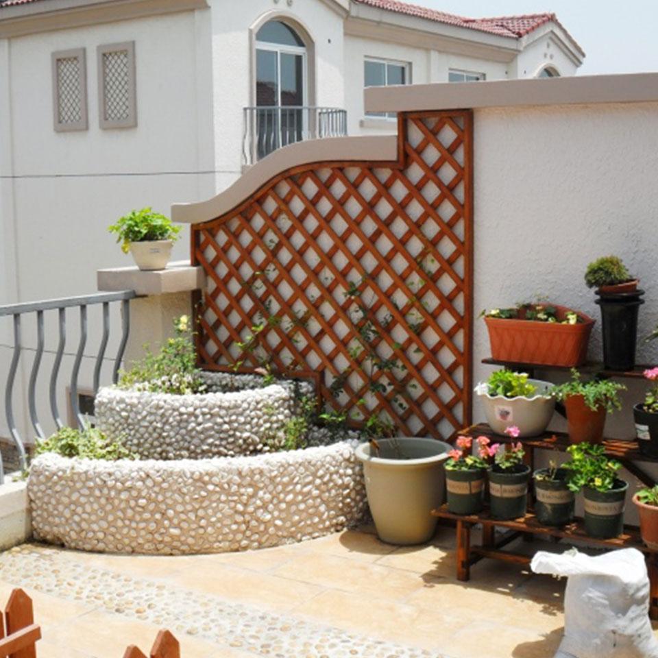 私家别墅花园修建