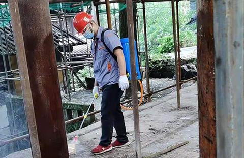 重庆古建筑灭白蚁
