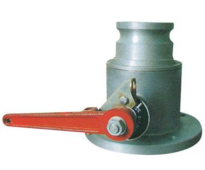 加机油机配件-圆法兰单向球阀