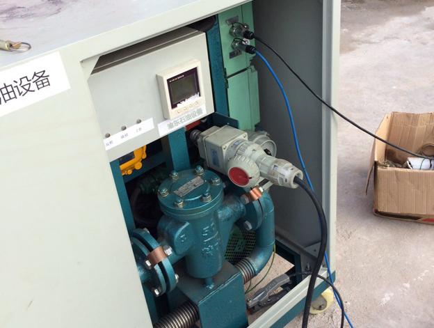 加油机配件油罐容积校正系统