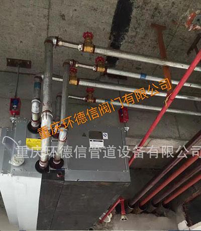 水利工程铜阀门安装应用