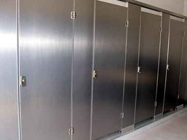 金属材料卫生间隔断