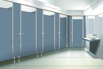 公共卫生间淋浴间隔断材料