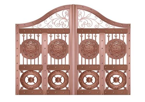 庭院铜门要如何进行保养才好