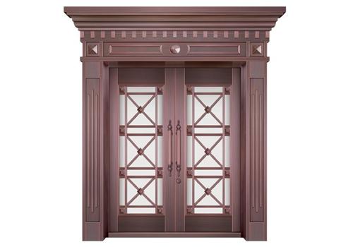 重庆玻璃铜门