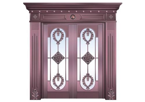 家用铜门定制案例