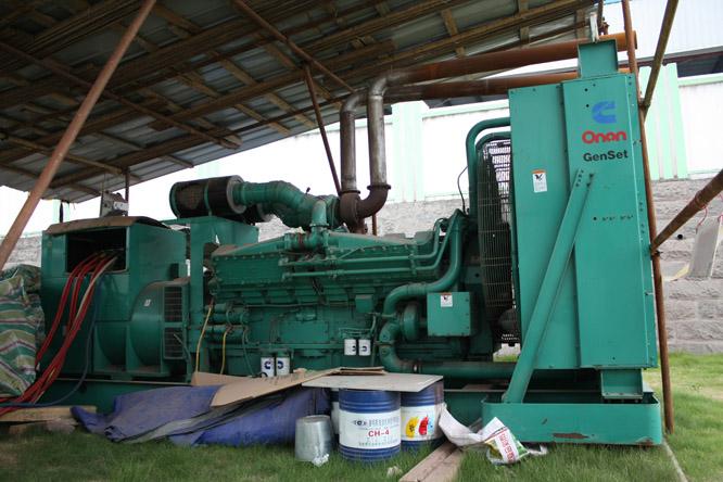 1280KW发电机组租赁