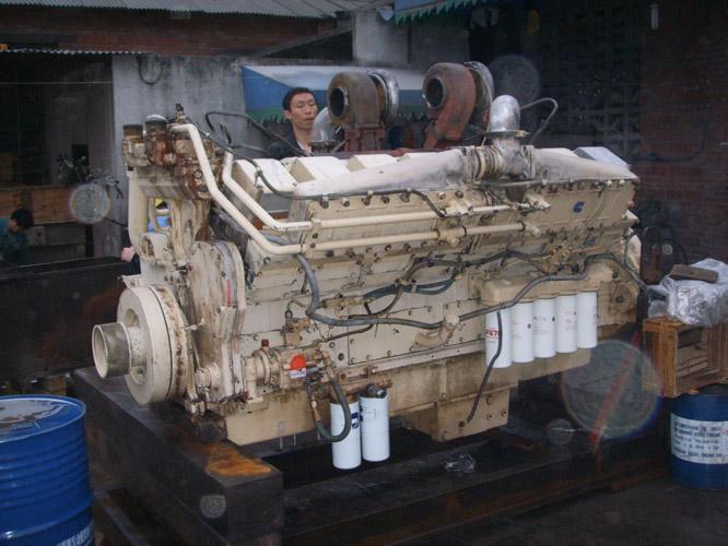 K50发动机维修调试中