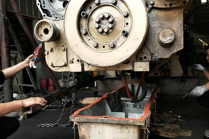 重庆发动机维修公司