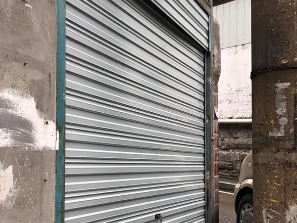 重庆沙坪坝彩钢卷帘门
