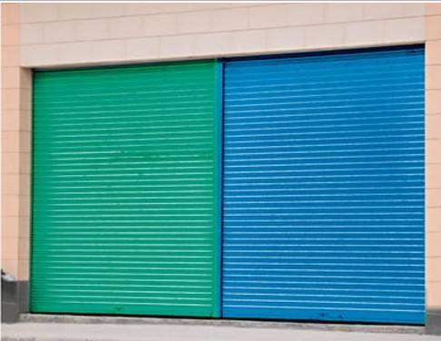 彩钢板卷帘门产品的特点