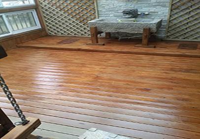 防腐木木地板使用的相关知识介绍