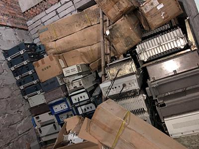 大量回收电子构件