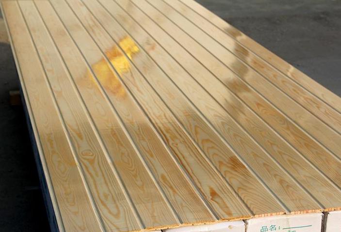 碳化木板材