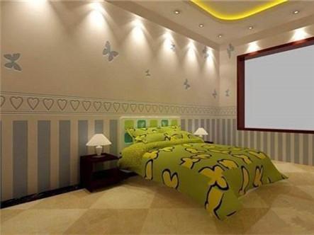 儿童房蝴蝶系列墙面工艺