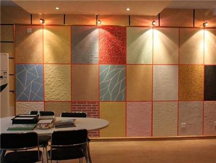主题餐厅墙面质感漆工艺