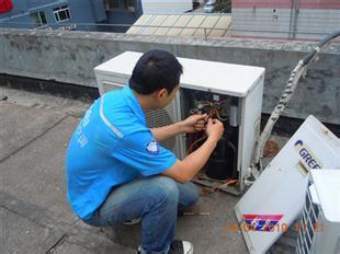 空调外机异响维修