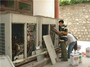 大型空调外机维修