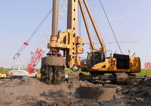 一句话看懂大型旋挖钻机