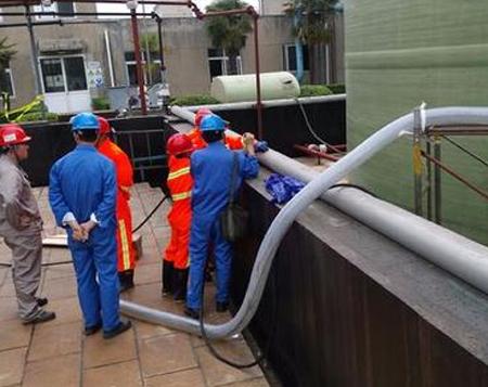 重庆工业管道清洗案例展示