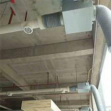 网吧安装新风系统现场