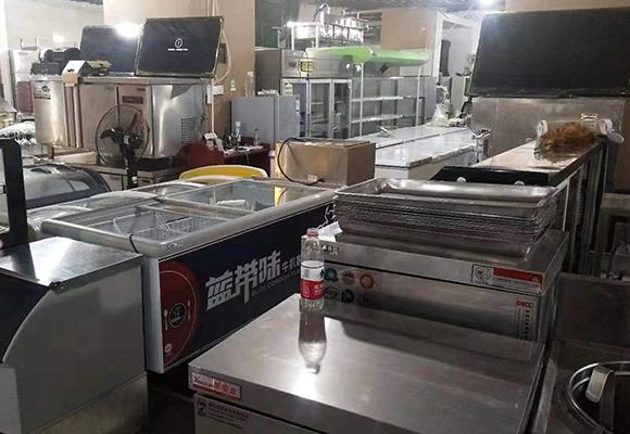 重庆华光面点间设备回收