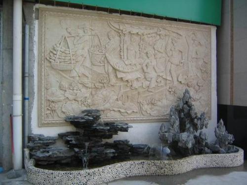 景观雕塑在环境景观设计中起着特殊而积极的作用