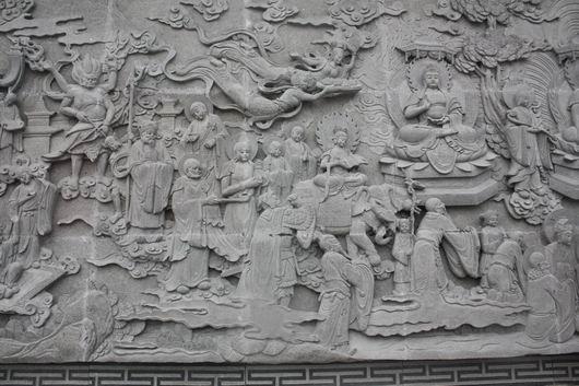 外墙浮雕壁画