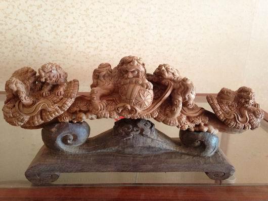 雕塑之木雕工艺品