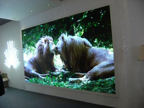 高品质酒店LED显示屏外观平整度突出