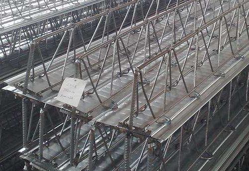 钢筋桁架楼承板在砼框架结构中的经济分析