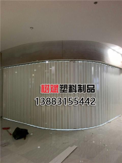 弧形水晶折叠门