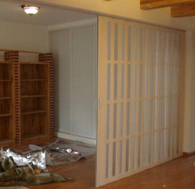 PVC折叠门百搭且品质好