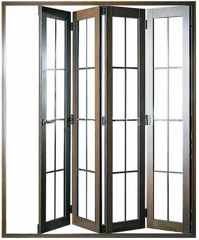 商场用铝合金水晶折叠门的选购技巧