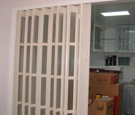 铝合金折叠门的维修事宜