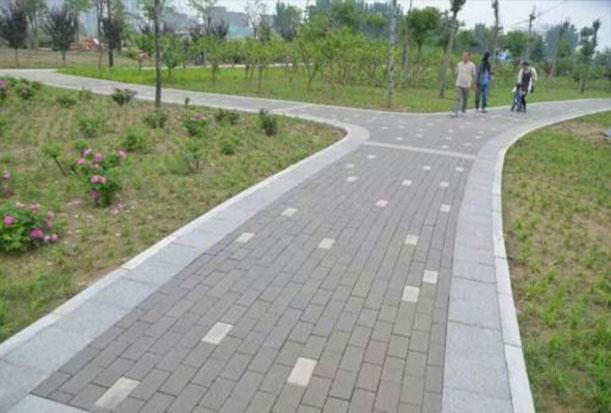 重庆贝蒙小区混泥土透水砖