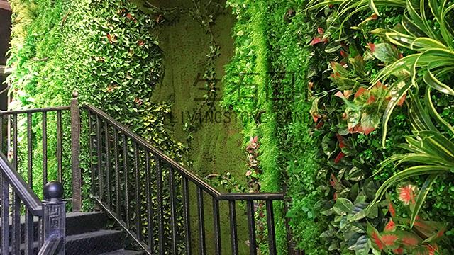 湖北荆州商会仿真植物墙-其他仿真植物墙