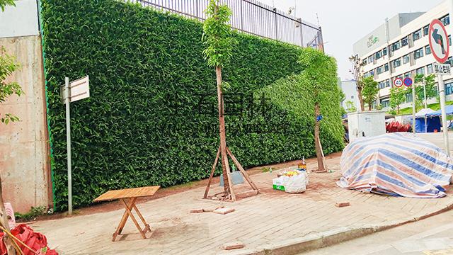 嘉民物流空港中心生态植物墙