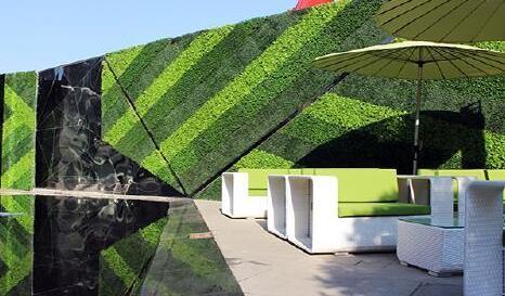 室内仿真植物景观作用