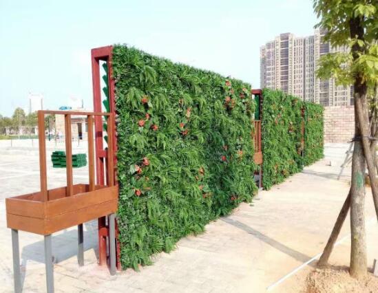 仿真植物墙是美化环境的好伙伴