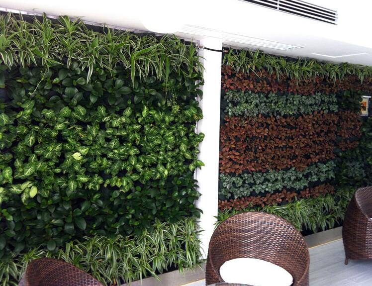 室内高仿真植物墙怎样成为流行装饰