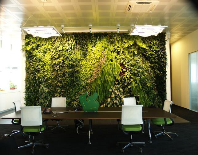 植物墙和现代装饰软装怎样搭配
