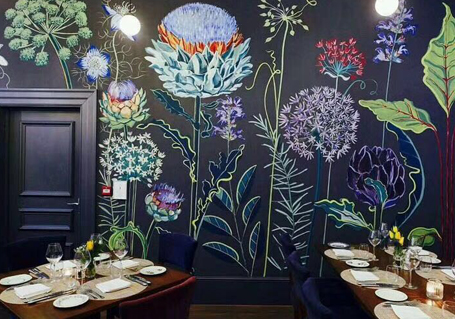 墙体创意彩绘
