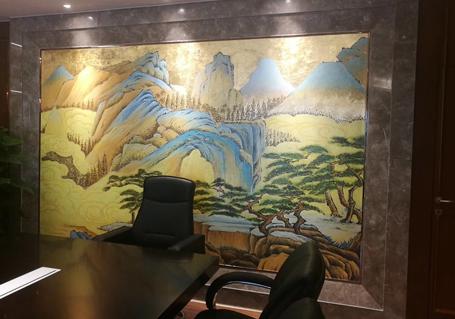 酒店彩绘壁画